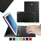 Leather Case Cover with Bluetooth keyboard for Samsung Galaxy Tab Tablet