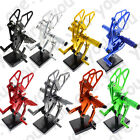 Front Rearsets Footpegs Footrest Pedal Fit YAMAHA MT-07 2013 2014 2015 Aluminum