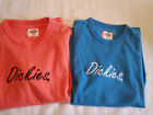 Dickies Womens XS or Medium Cotton Short Sleeve Shirt Top Choice NWT Embroidered