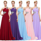 HOT Women Long WEDDING Bridesmaid Chiffon Dress Prom Ball Cocktail Party Evening