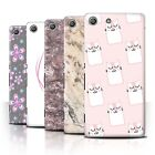 STUFF4 Phone Case/Back Cover for Sony Xperia M5 /Pink Fashion