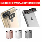 Rear Camera Lens Protector TPU Clear Case Cover Pouch For iPhone 7 6 6S Plus