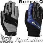 BUFFALO FOCUS BLACK BLUE MOTO-CROSS MOTO-X DIRT BIKE MOTORCYCLE MOTORBIKE GLOVES