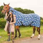 PONY COB HORSE SHOW TRAVEL STABLE COOLER SHEET PRINTED FLEECE COMBO RUG AL SIZES <br/> FREE matching headband (limited time only)