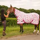 PONY COB HORSE SHOW TRAVEL STABLE COOLER SHEET PRINTED FLEECE COMBO RUG AL SIZES