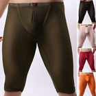 Men' Mesh Underpants Sheer Underwear Trunks Legging Short Pants See-Through NEW