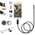 10M 6 LED Android Endoscope Waterproof Inspection Camera Micro USB Video Camera