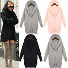 Ladies Women Loose Long Sleeve Knitted Sweater Tops Cardigan Outwear Coat Jacket
