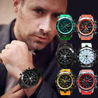 Hot Military Men's Watch Stainless Steel Date Sport Analog Quartz Wrist Watch