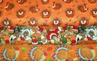 THANKSGIVING #2  FABRICS Sold INDIVIDUALLY NOT AS A GROUP By the HALF YARD