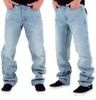 Rocawear Mens Boys Double R Star Loose Fit Hip Hop Jeans Is Money G Time SWB