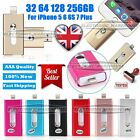 32 64 128 256GB i Flash Drive OTG Device USB Memory Stick For iPhone 5 6S 7 Plus