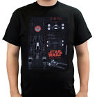 Star Wars Rogue One U-Wing Schematic Black Adult T-Shirt