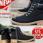 Fashion Men's Boys Ankle Boots Fur Lined Winter Autumn Martin Boots Shoes Lot