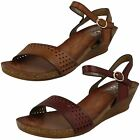 Ladies Down To Earth Wedged *Summer Sandals* F10698