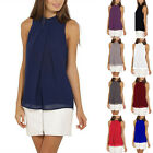 Fashion Women Summer Vest Top Sleeveless Shirt Blouse Chiffon Tank Tops T-Shirts