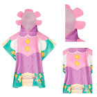 Nifty Kids Soft Cotton Flower Fairy Hooded Poncho Towel Childrens Beach Wear