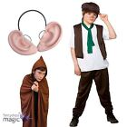 Kids Book Week Day Friendly Giant BFG Ears Cape Fancy Dress Outfit Costume Set