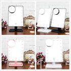 10X Magnifying Touch Screen 20 LED Light Make-up Cosmetic Tabletop Vanity Mirror