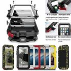 Waterproof Shockproof Aluminum Gorilla Metal Cover Case Skin For iPhone /Samsung