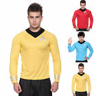 Mens Star Trek Startrek Movie Scotty Kirk Spock Fancy Dress Costume T-Shirt on eBay