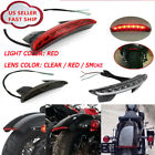 12V 8 LED License Tail Light Lamp For Motorcycle Bobber Cafe Racer Clubman