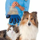 Massage True Glove Touch Deshedding Pet Grooming Dog Cat Hair Bath Cleaning Comb