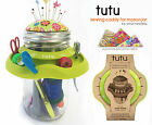 Tutu Sewing Caddy for Mason Jars, Best Selling Notion By Smartneedle