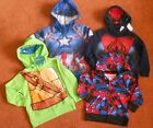 SUPER HERO HOODIES 24M-4T, YOUR CHOICE, BRAND NEW W/ TAGS FREE SHIPPING