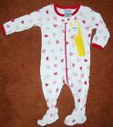 CHILDREN'S PLACE HEART SLEEPER, SIZE 3-6M, BRAND NEW WITH TAGS
