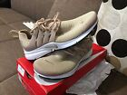 Nike Air Presto Linen Black White 878068 200 Women Size 6-11 100% Authentic
