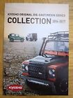 KYOSHO COLOUR CATALOGUES for 2005 2006 (15th Anniversary) 2008 & 2014