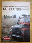 KYOSHO COLOUR CATALOGUES for 2005 2006 15th Anniversary 2008 2014 2016 2017