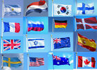 Indoor Outdoor 3x5 feet Country Banner National Flag Pennants USA Canada