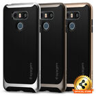 Spigen® For LG G6 [Neo Hybrid] Shockproof Protective TPU Bumper Slim Case Cover