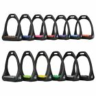 HyJump Equestrian Riding Quick Release Shock Absorbant Compositi Reflex Stirrups