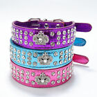 Colors Rhinestone Crown Dog Collars  Pet Cat Puppy Chihuahua Toys Bling Collar