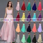 New Long Chiffon Bridesmaid Formal Gowns Ball Cocktail Evening  Prom Party Dress