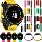 Sport Silicone Watch Band Strap> For Garmin Forerunner 220 230 235 620 630 735XT