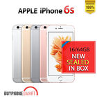 NEW SEALED BOX - APPLE IPHONE 6S 6S PLUS FACTORY UNLOCKED 64GB 128GB AU 1 yr WTY