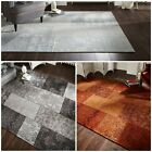 Traditional Manhattan Patchwork Chenille Rug Multi Colours in 2 sizes Carpet