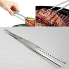 1X Aquarium Plant Tank BBQ  Long Straight Tweezer Clip Scissor Stainless Steel