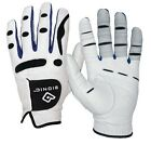 BIONIC MEN'S PERFORMANCE GRIP LEFT HAND WHITE GOLF GLOVE - NEW PICK SIZE!!
