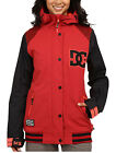 DC DCLA Women's Snowboard Snow Ski Varsity Jacket American Beauty Red Small Med