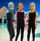 NEW Kids Anti-UV One-piece Swimwear Diving Snorkeling Surfing Coveralls Wetsuit