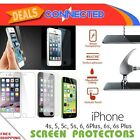 New Apple iPhone 4 4s 5 5c 5s 6 6s 7 7+ Tempered Glass Screen Protector LCD Film