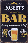 TYRE WINE BEER Vintage Tin Sign Bar pub home Wall Decor Retro Metal Poster