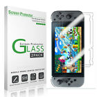 [2-Pack] Nintendo Switch 2017 Anti Scratch Screen Protector Tempered Glass Clear