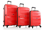 Heys Athena 3pc Lightweight Suitcase Set with Duraflex - Various Colours