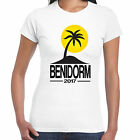Benidorm 2017 Holiday - Ladies T shirt - Tour Hen Clubbing Palm